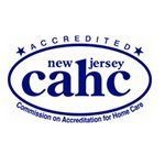 New Jersey Commission on Accreditation for Home Care Logo